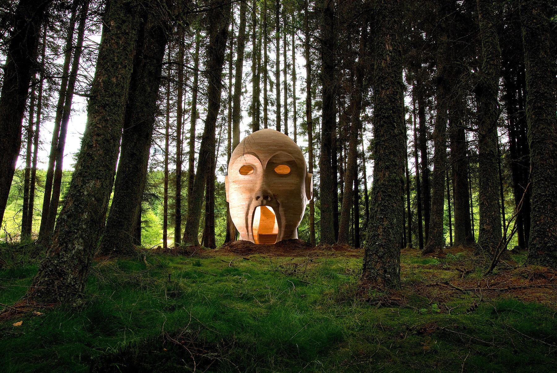 Картинки головы лес