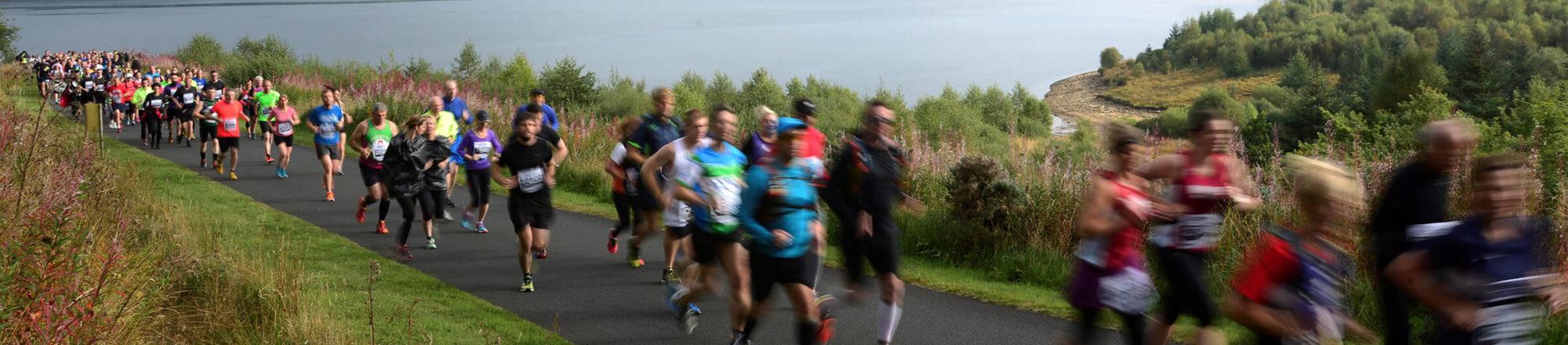 Kielder Half Marathon in Northumberland | Kielder Waterside